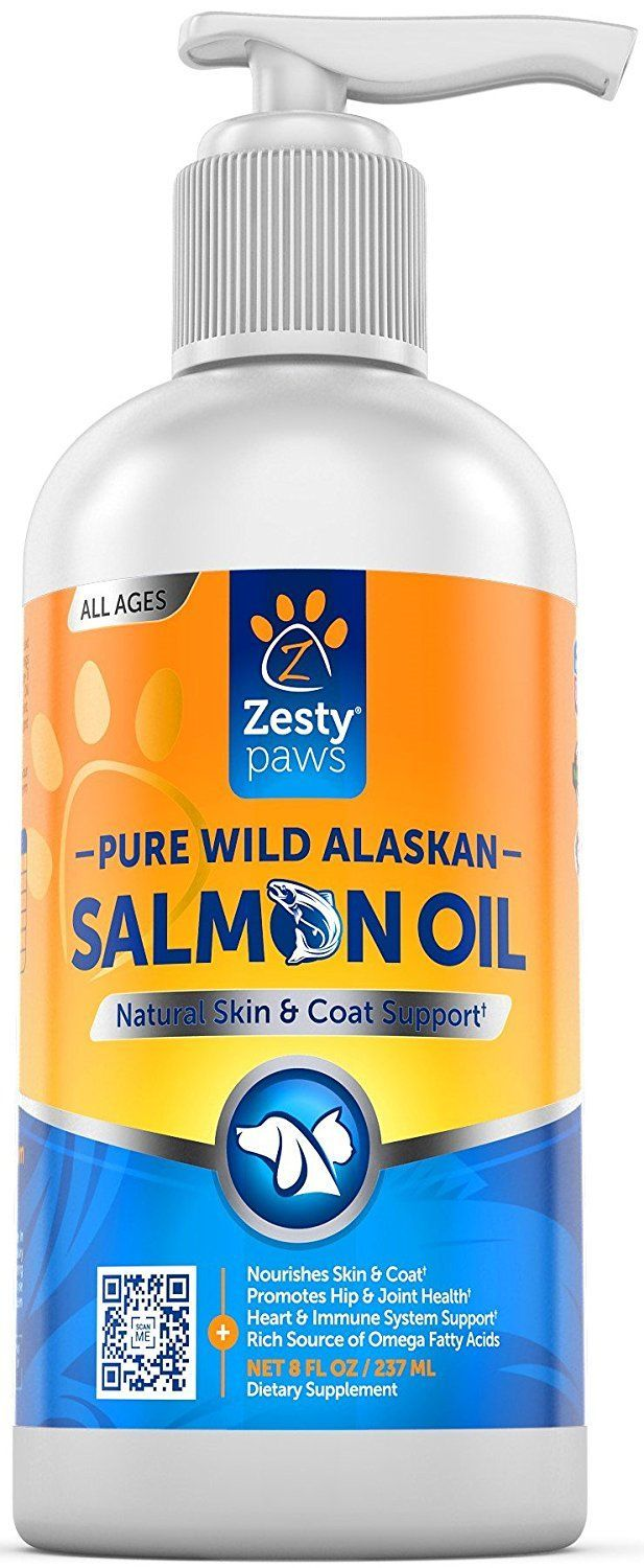 Pure Wild Alaskan Salmon Oil for Dogs & Cats Supports