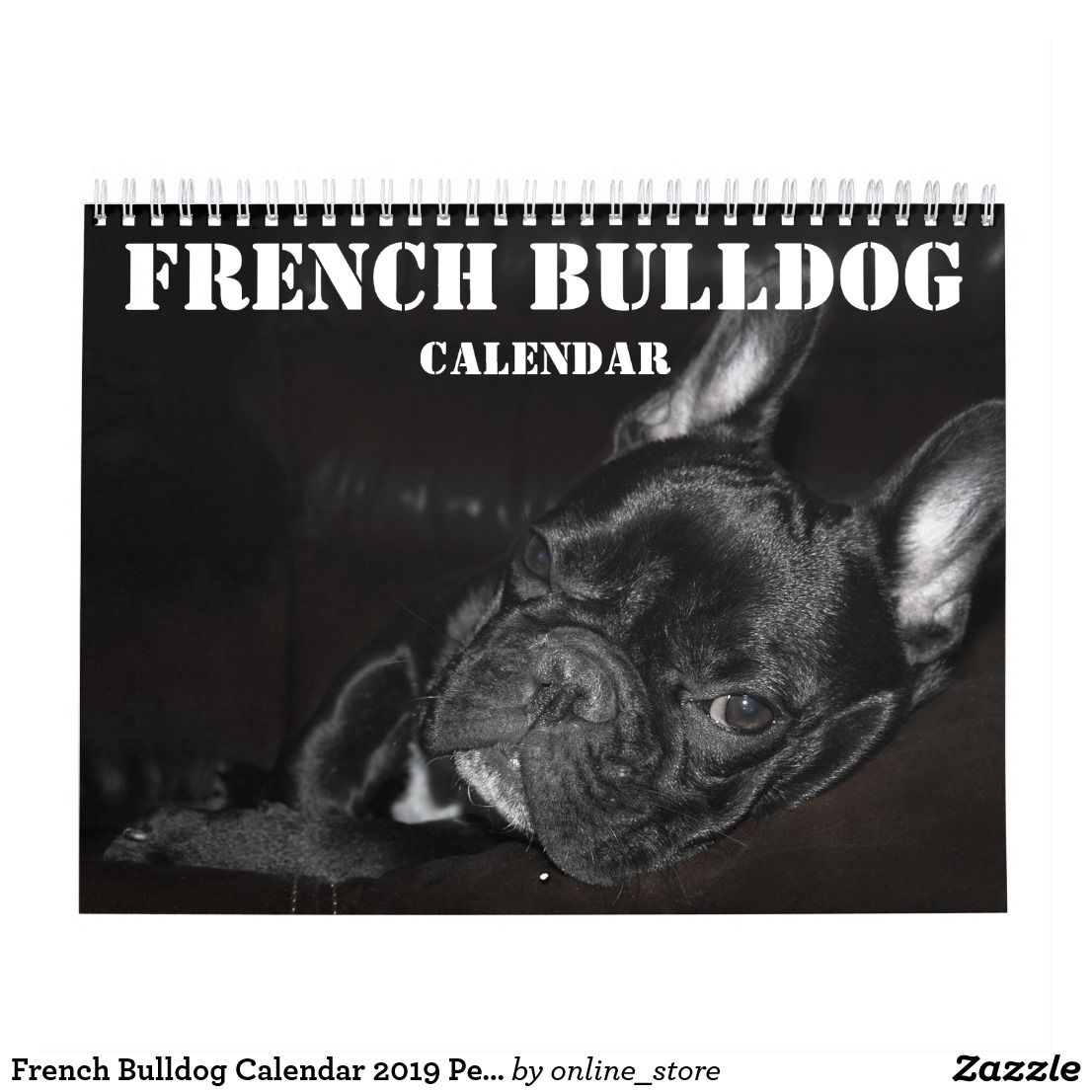 French Bulldog Calendar 2020 Personalized Photos Zazzle Com