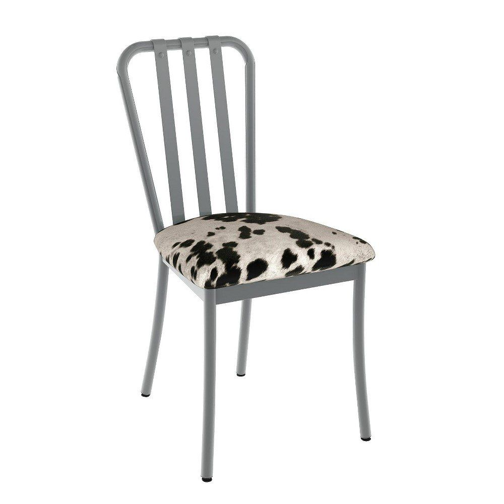 Blue And White Dining Chairs Inspirational Club Metal Dining Chair Gray And Aqua Blue 2 In Set Amisco Kursi Makan Kursi Kursi Samping