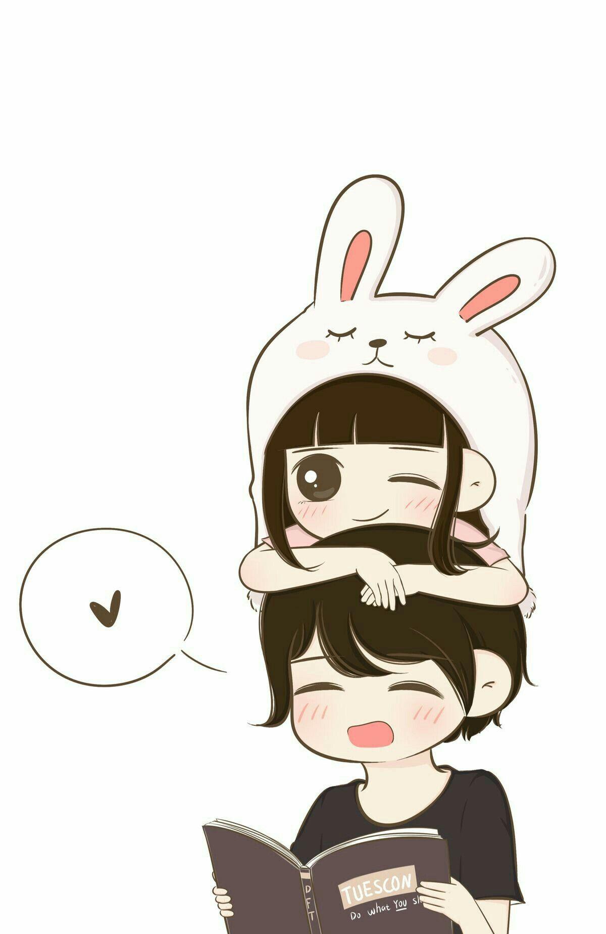 L(*OεV*)E Cute love cartoons, Cute couple wallpaper