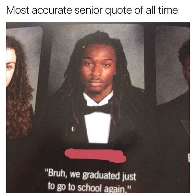 Top 25 Funny Graduation Captions | Funny black memes ...