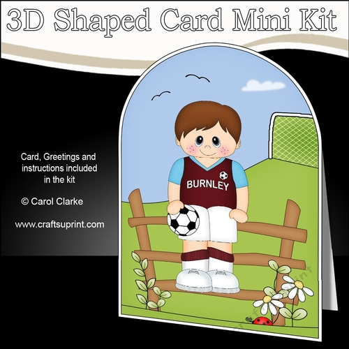 Coming Soon This Cute Football Shaped Card Kit Will Be Available Here Within 2 Hours Http Www Craftsuprint Card Kit Shaped Cards Card Making Designs