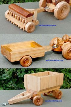 Pin By Miguel Panizza On Woodworking Wooden Toy Trucks Wooden Toys Plans Wooden Toys Design