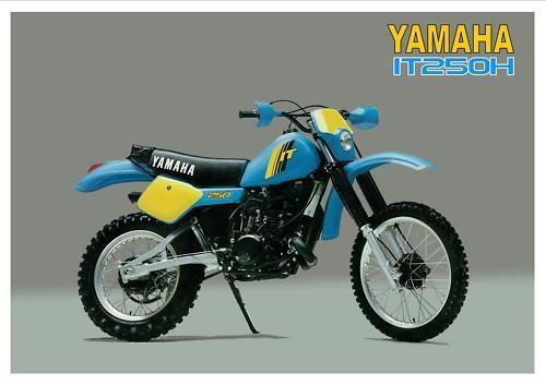 Yamaha Poster It250 It250h 1981 Suitable To Frame Ebay Motors Parts Accessories Manuals Literature Ebay Yamaha Yamaha Bikes Vintage Honda Motorcycles