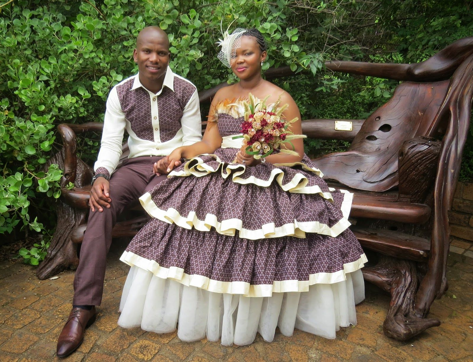 Shweshwe Weddings Traditional Dress
