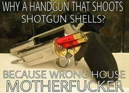 love this! fucking awesome. 410 handgun
