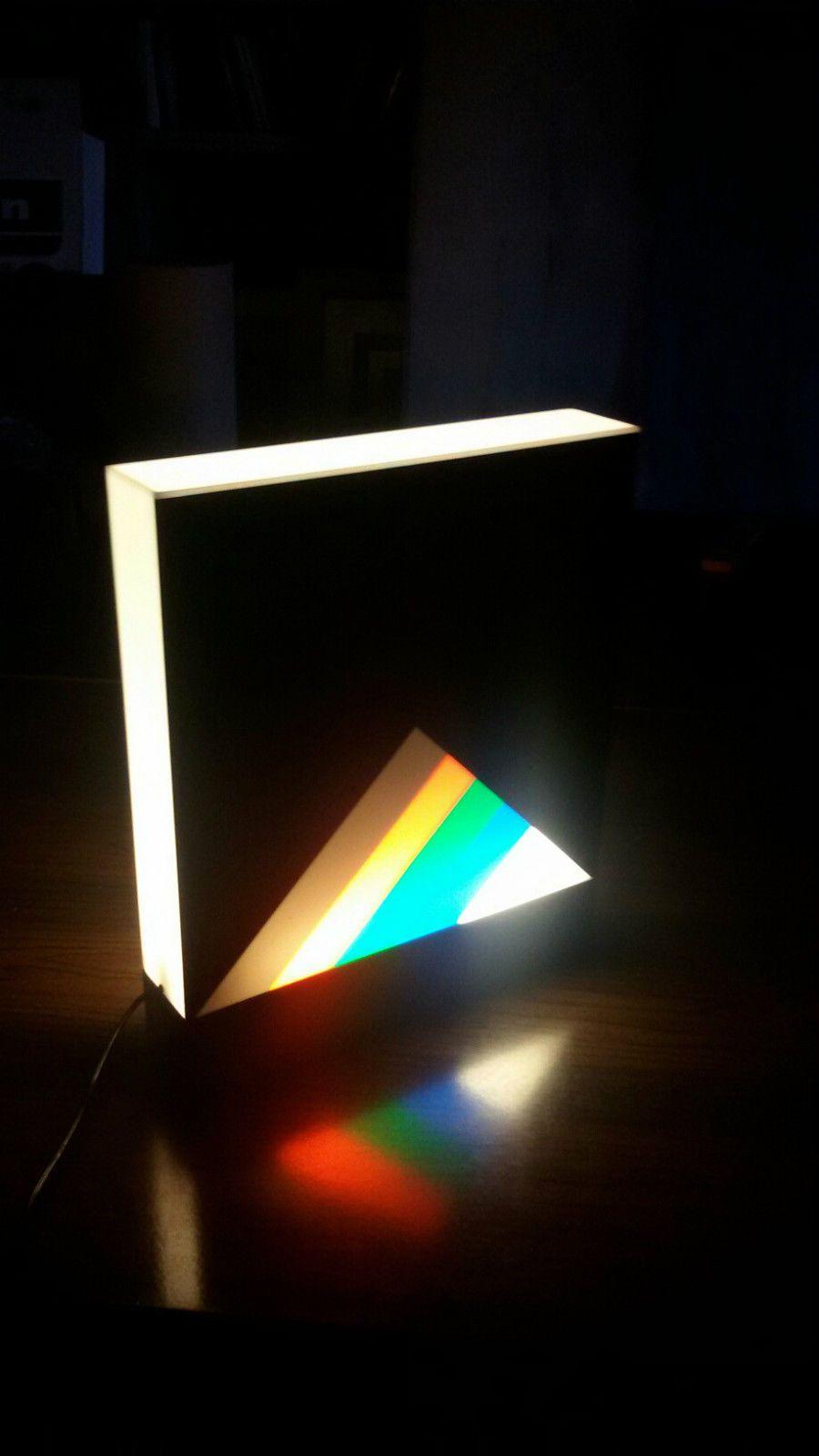 Eugenio Carmi Lampe Sculpture 1970 Light Sculpture Light