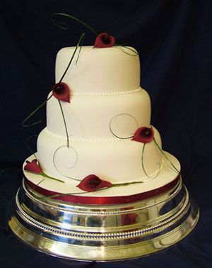 Simple Wedding Cake Decorations