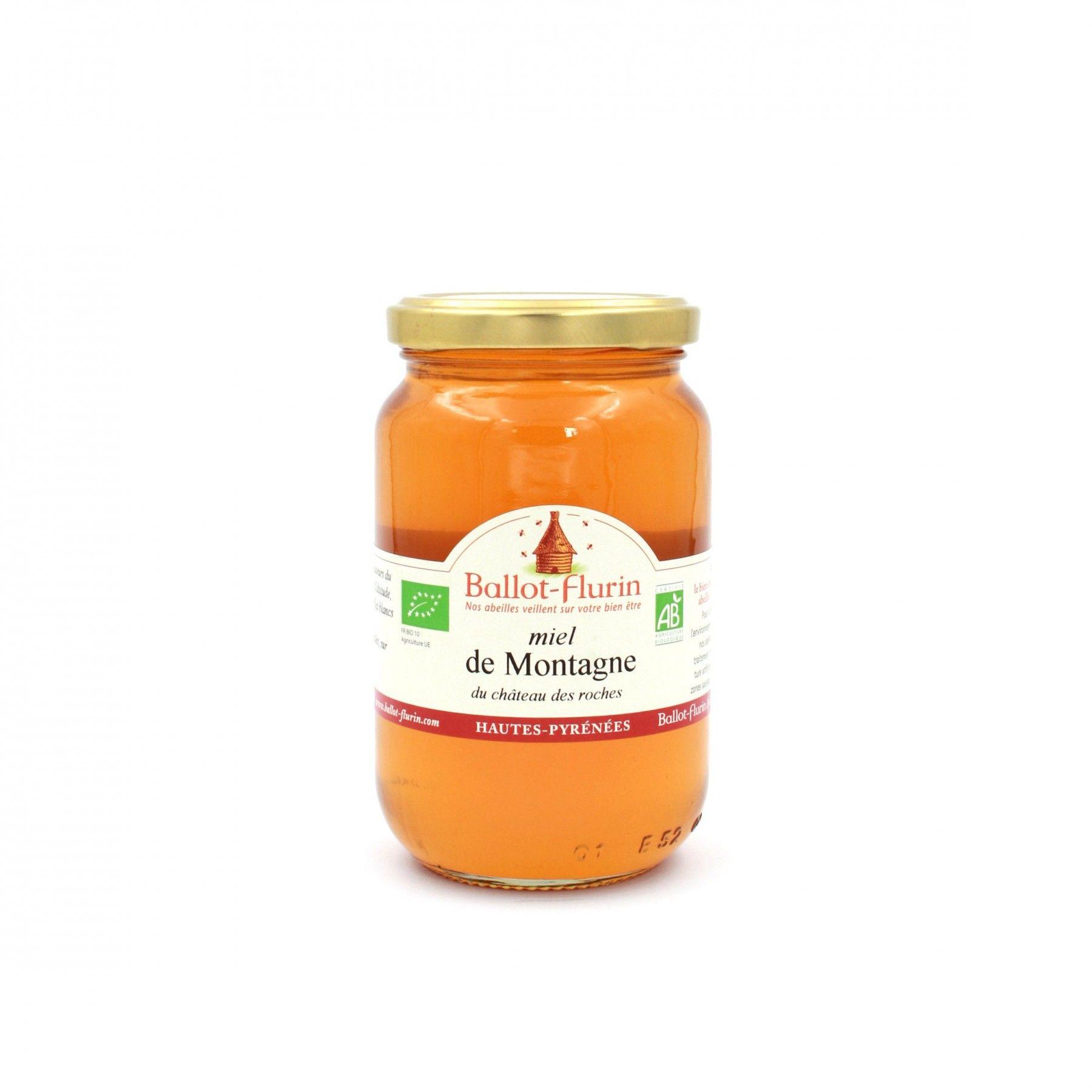 Miel bio de Montagne (500g)