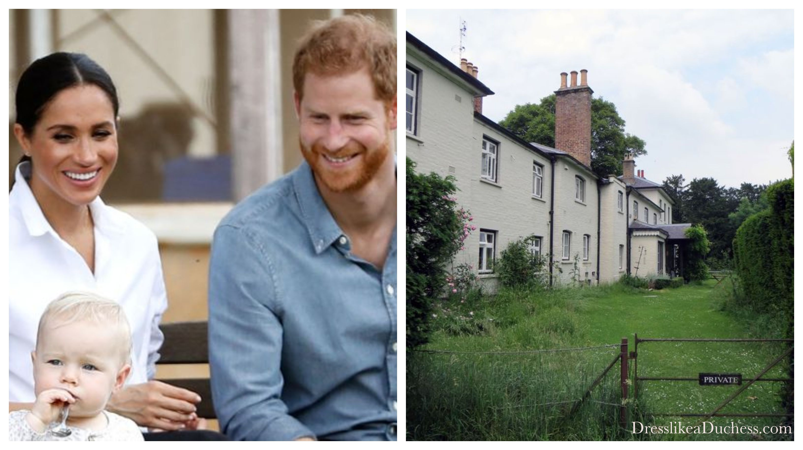 meghan markle and prince harry moving to frogmore cottage meghan markle and prince harry moving