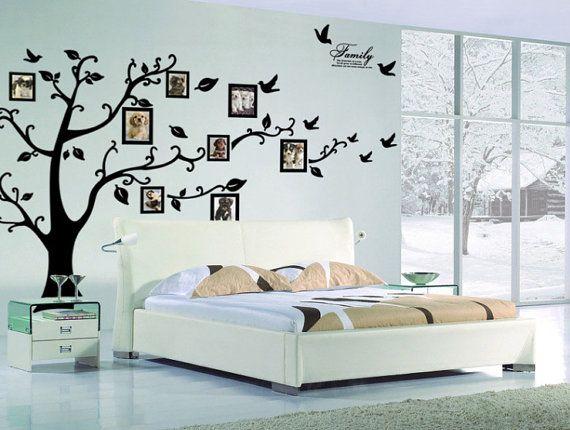 Arbre généalogique Wall decal -   Family Tree   Pinterest   Árboles ...