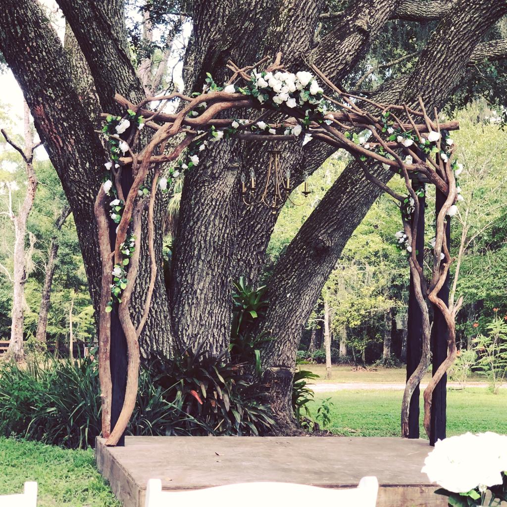 Woodland Forest Wedding - Cypress Creek Event Venue
