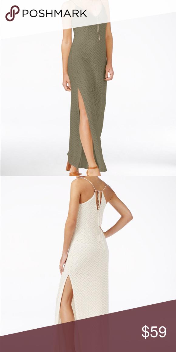 Guess jamila sleeveless maxi dress Guess jamila sleeveless maxi dress, polyester/cotton, imported , hand wash , v neckline , sleeveless, olive color Guess Dresses Maxi