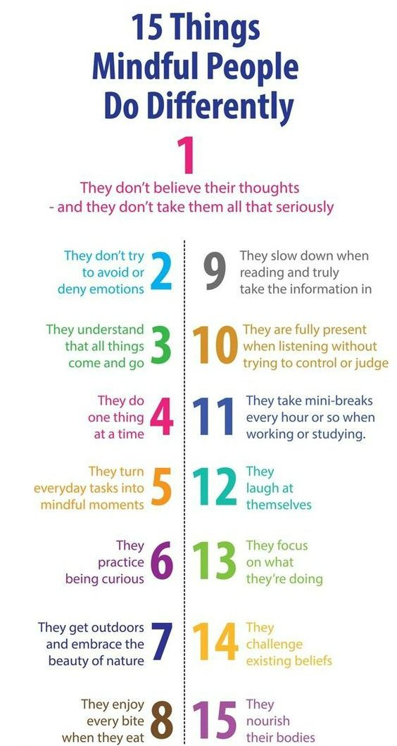 15 Things Mindful People do Differently #standout #rockstar