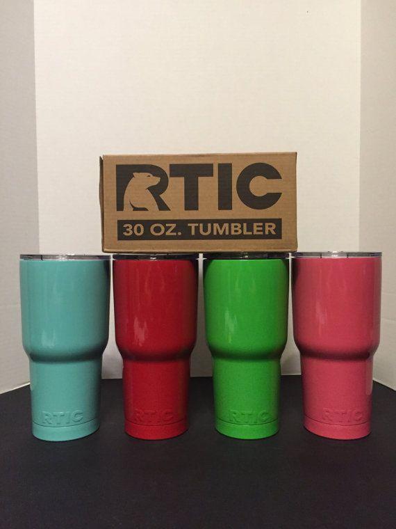Powder Coated Rtic Tumbler 30 Oz By Diamondstateconcepts