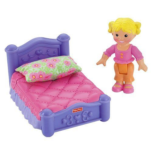 TOPSELLER! Fisher Price My First Dollhouse - Sister`s Room $14.99 ...