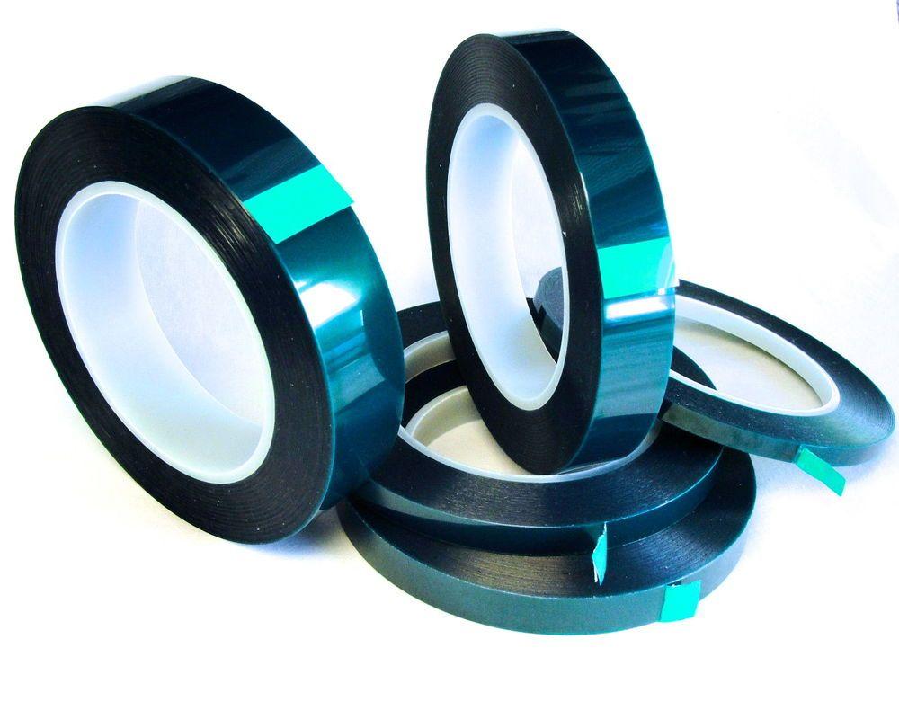 5 Roll High Temp Masking Tape Kit Powder Coating Paint Green Polyester Silicone Ebay Powder Coating Diy Masking Tape Powder Coating