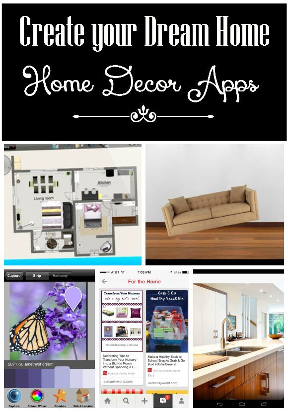 Visualize Your Dream Space with these Home Décor Apps| Home Decorating with OurFamilyWorld.com