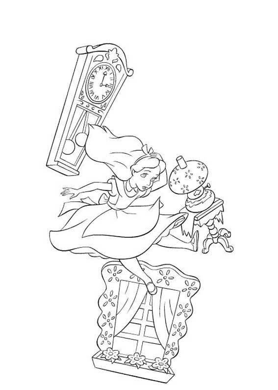 Alice in Wonderland #coloring | Алиса | Pinterest | Alicia en el ...