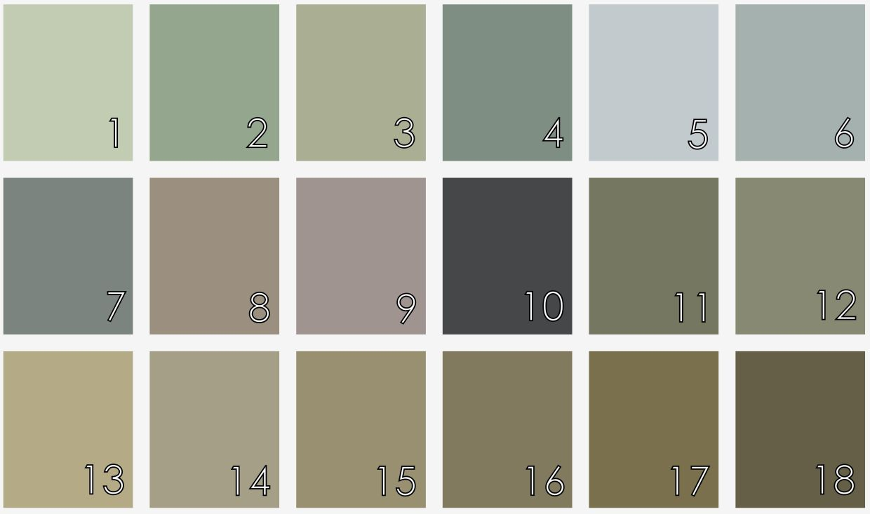 Sacred Space Paint Colors Muted Gray Earth Tones Soft Blue