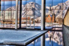 Photograph - Provo City Center Temple Ix by David Simpson