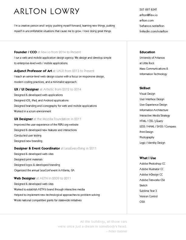 26 CV originaux que vous voudrez immédiatement copier Resume - headings for resumes