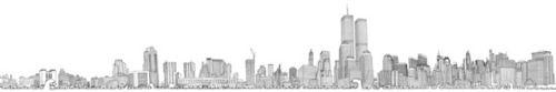 NYC's Pre 9/11 Skyline