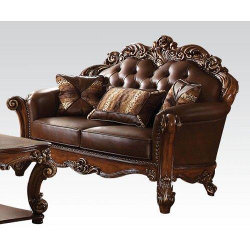 Best Acme Vendome 2Pc Oversized Stationary Living Room Set In 400 x 300