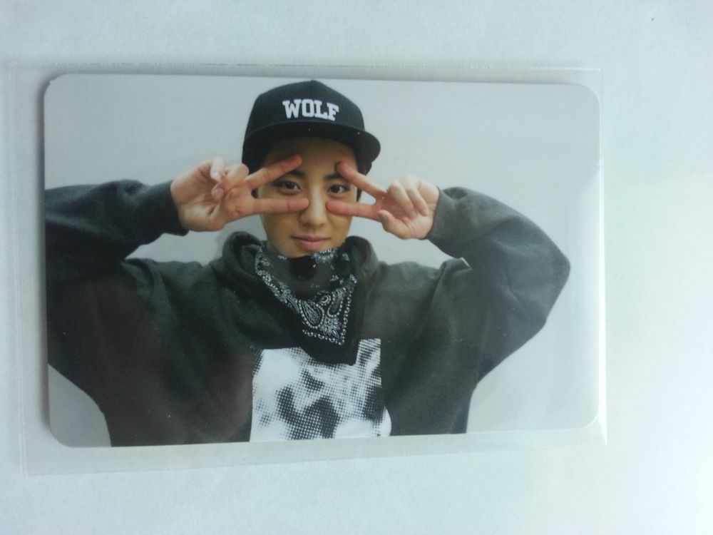 EXO K CHANYEOL Official Photocard 1st Repackage Ver.B ...