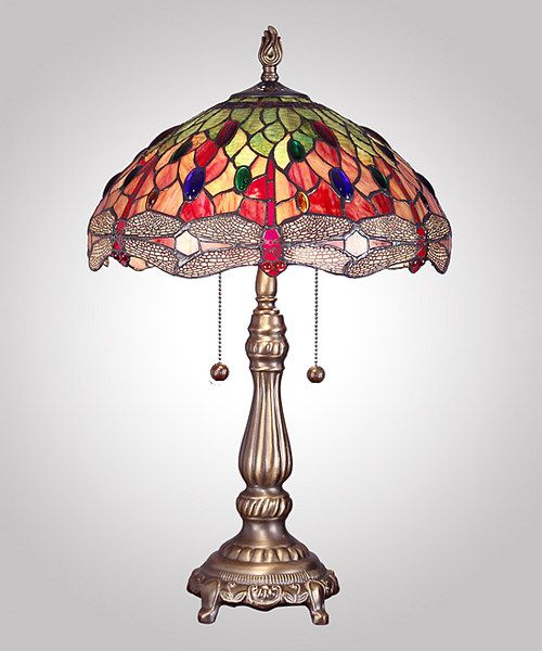 Look At This Dale Tiffany Yadira Dragonfly Table Lamp On #zulily Today!