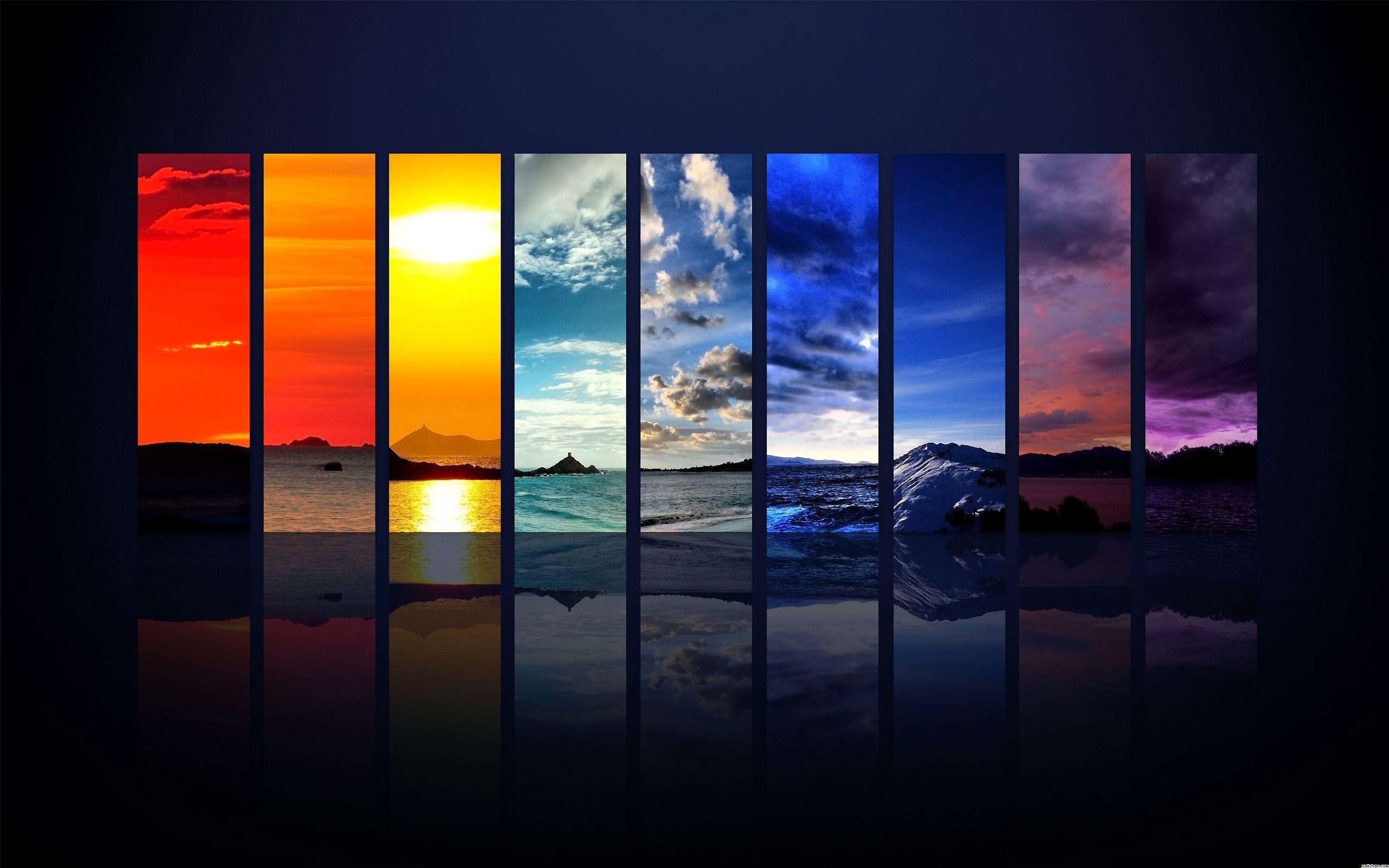 Ravishing Rainbow Desktop Wallpaper Wallpapers Hd Wallpaper Art