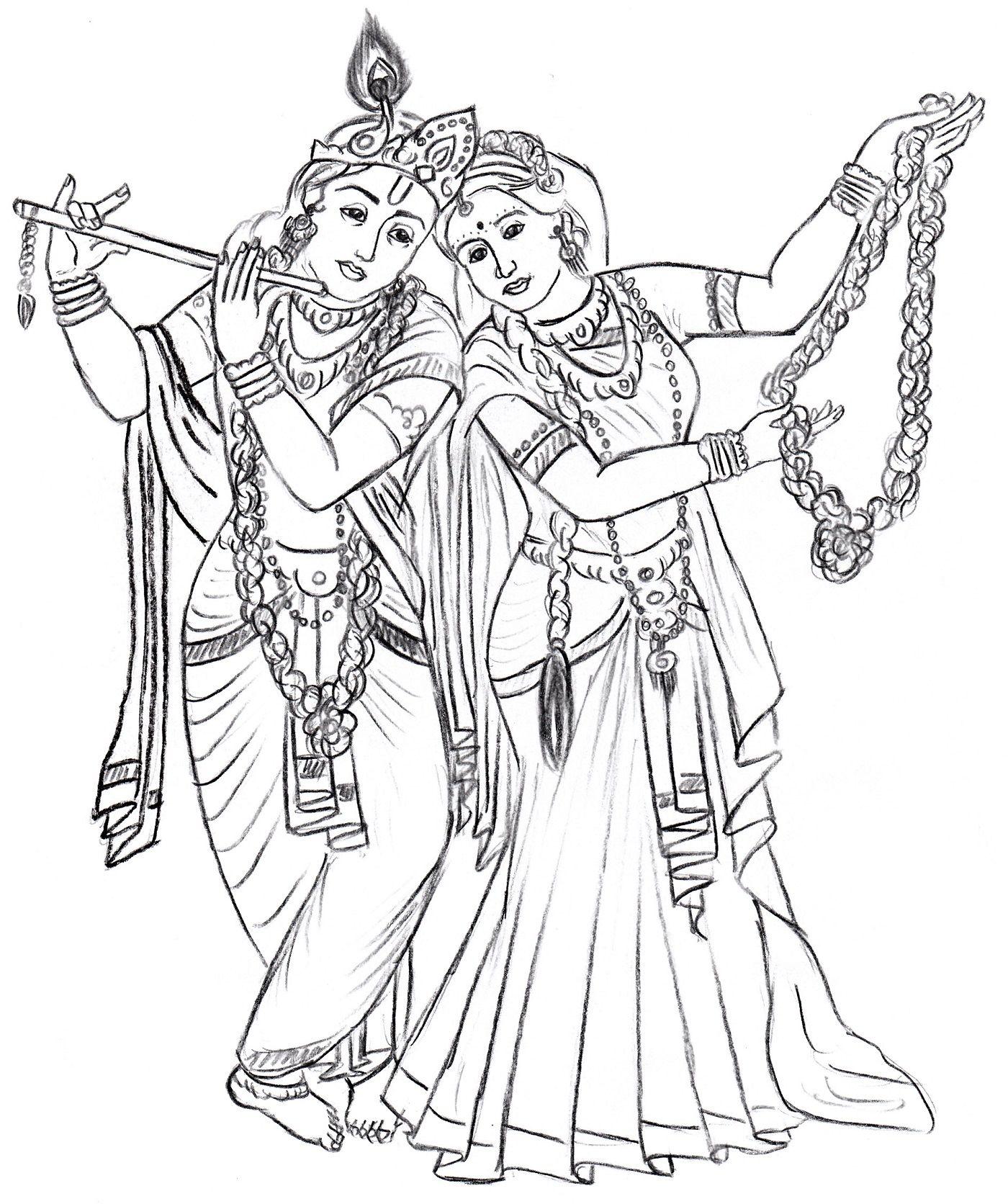radha krishna | stain glass :) | Pinterest | Hindus y Colorear