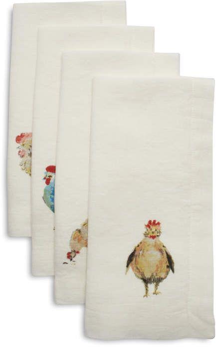 Sur La Table Jacques Pepin Collection Orted Ens Linen Napkins