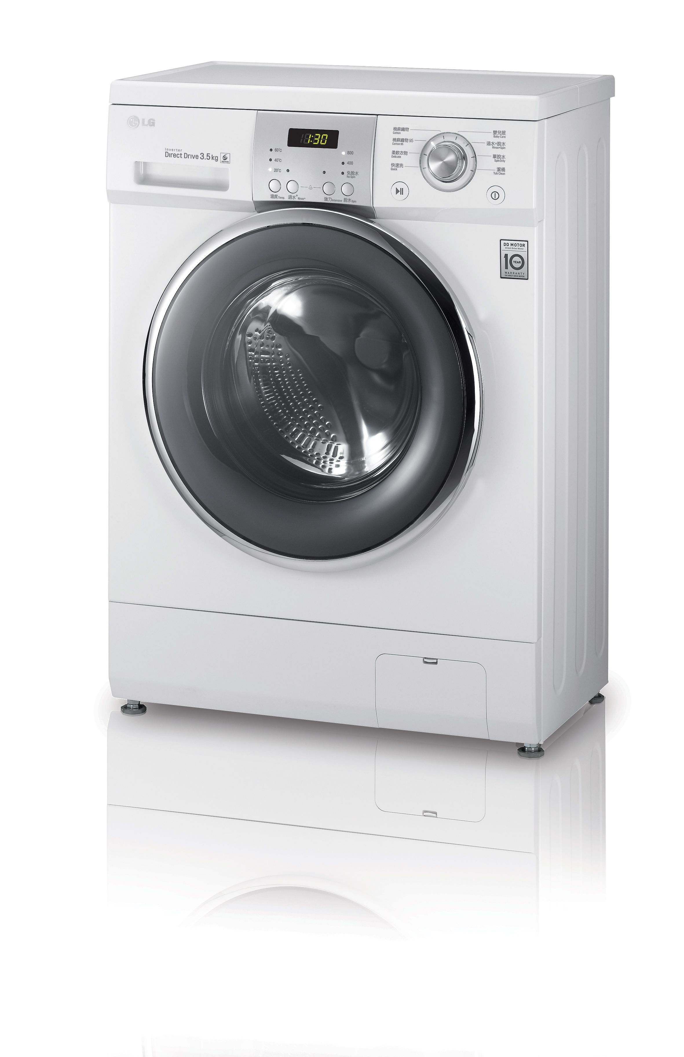 Lg Slim Washer With Only 360 Mm Depth