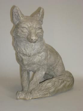 Brilliant Fox Garden Statue This Pin And More On Accents Large Concrete O Throughout Design