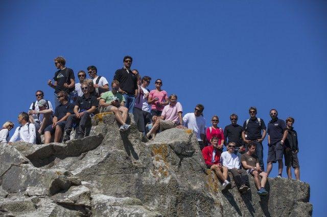 Journée à l'île de Batz pour les marins by M Flipo #Sail #LaSolitaire | www.scanvoile.com