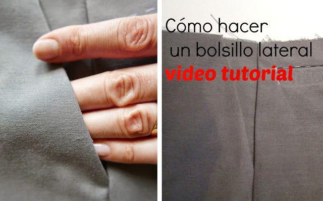 Colours for baby: Cómo hacer un bolsillo lateral en un pantalón