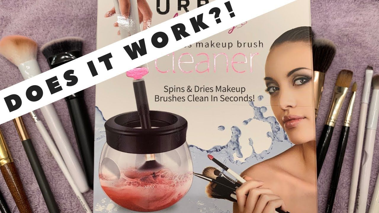 Urban Butterfly Cordless Makeup Brush Cleaner Does It Work