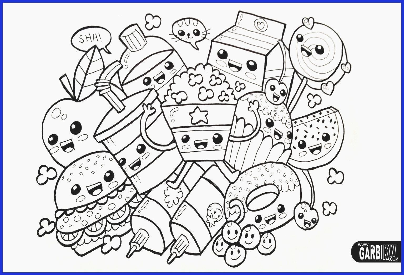 Anime Coloring Page Kawaii Beautiful Cute Anime Coloring Pages Unique 52 Most Supreme Girls Co In 2021 Unicorn Coloring Pages Food Coloring Pages Animal Coloring Pages