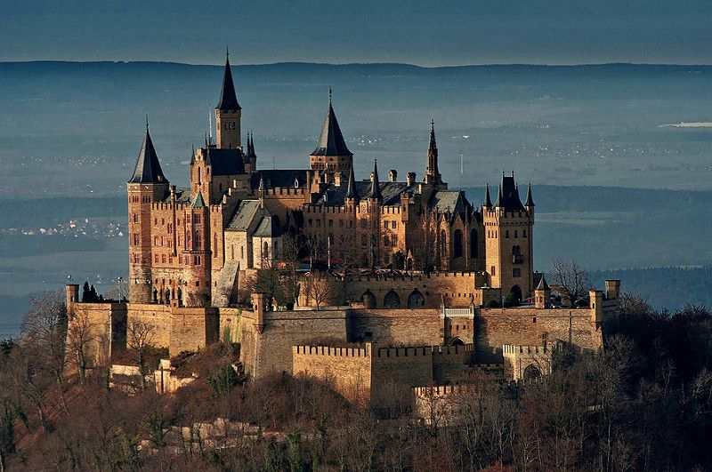 Hohenzollern Castle Burg Hohenzollern Germany Construire Images