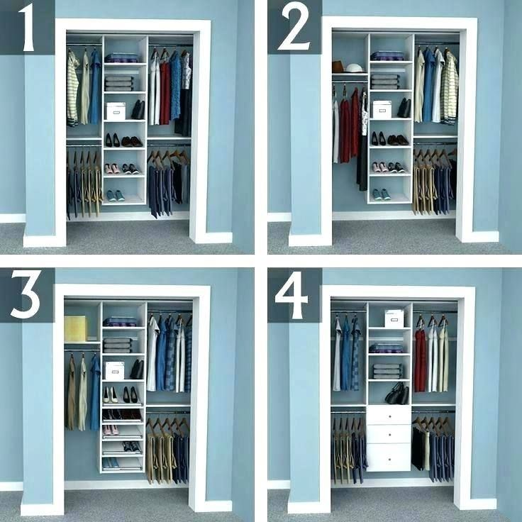 Design Bedroom Closet Organizers With Images Bedroom Closet