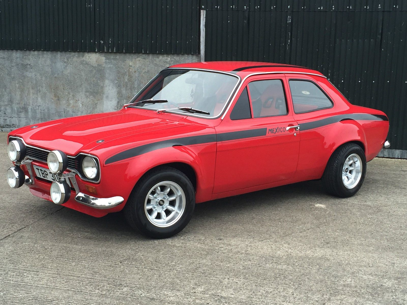1974 ford escort mk 1 rs mexico rs2000 ford escort ford and ebay. Black Bedroom Furniture Sets. Home Design Ideas