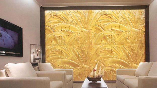 Decorative Wall Panels Adding Chic Carved Wood Patterns to Modern ...