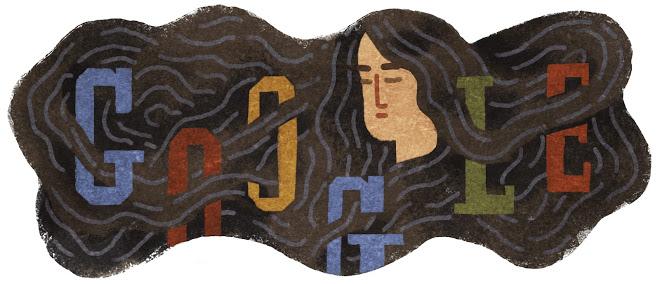 Akiko Yosano's 136th Birthday Google doodles, Doodles