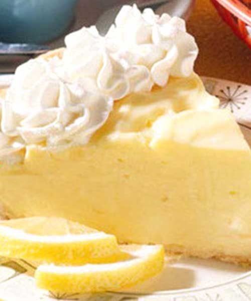 Recipe For Lemon Cream Cheese Pie Recipe Spring Recipes Dessert Lemon Recipes Lemon Desserts