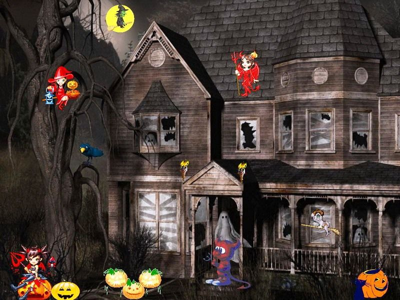 Spooky Free Animated Halloween Screensavers Halloween Screen Savers Happy Halloween Spooky Halloween