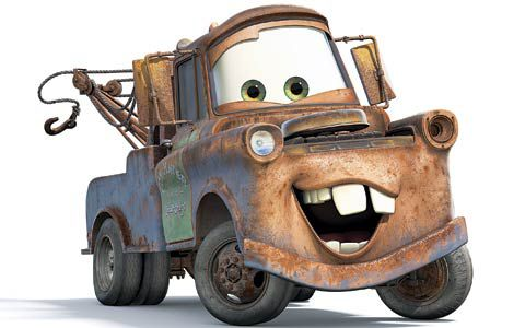 The King of all Trucks! Mater!!!!!