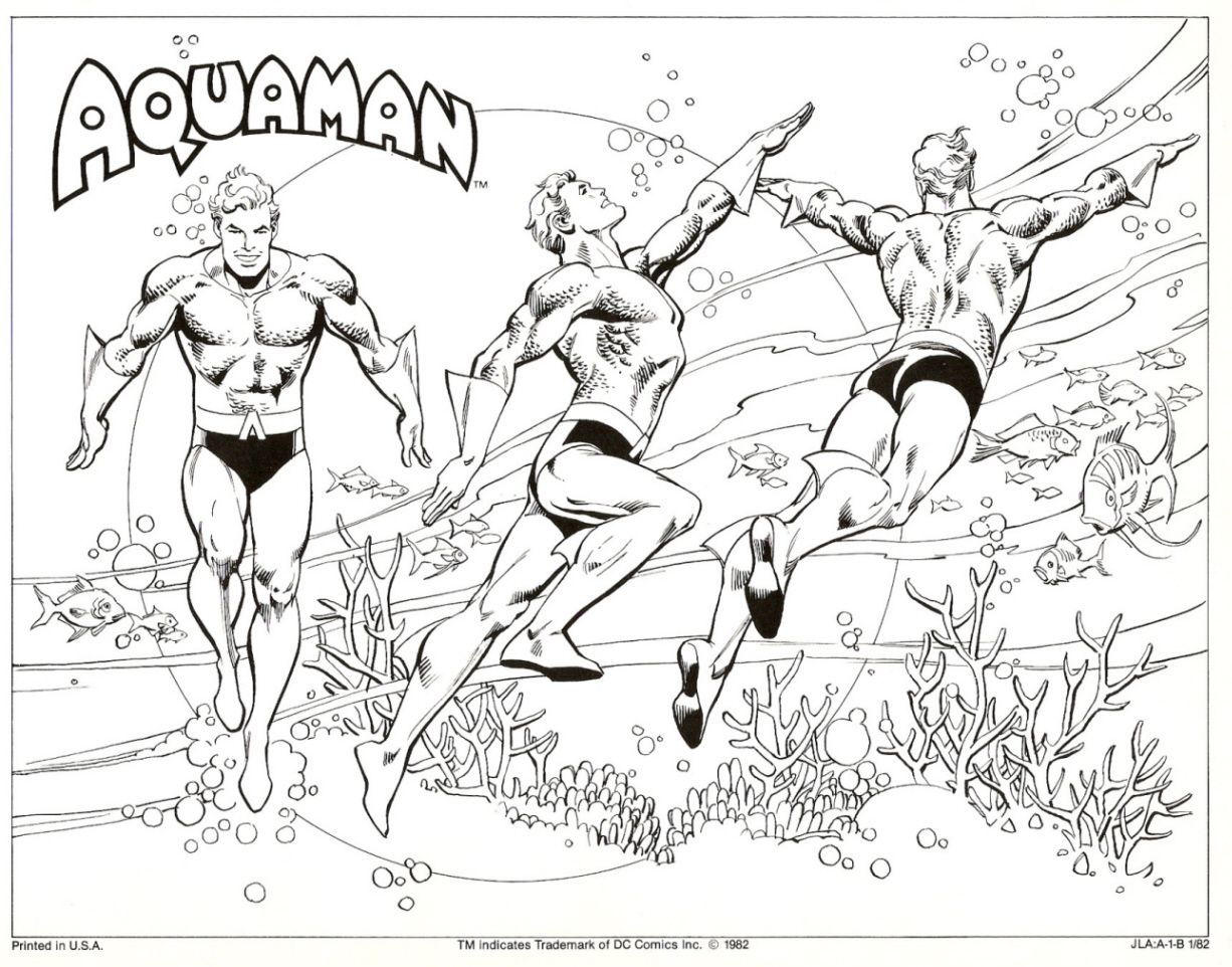 DC Style Guide Part 8 Aquaman (With images) Drawing