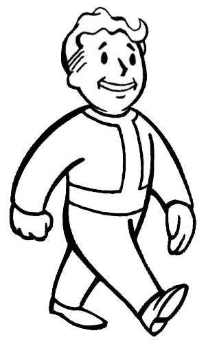 fallout 4 coloring pages Vault Boy | Embroidery Patterns and Ideas | Pip boy, Fallout game  fallout 4 coloring pages