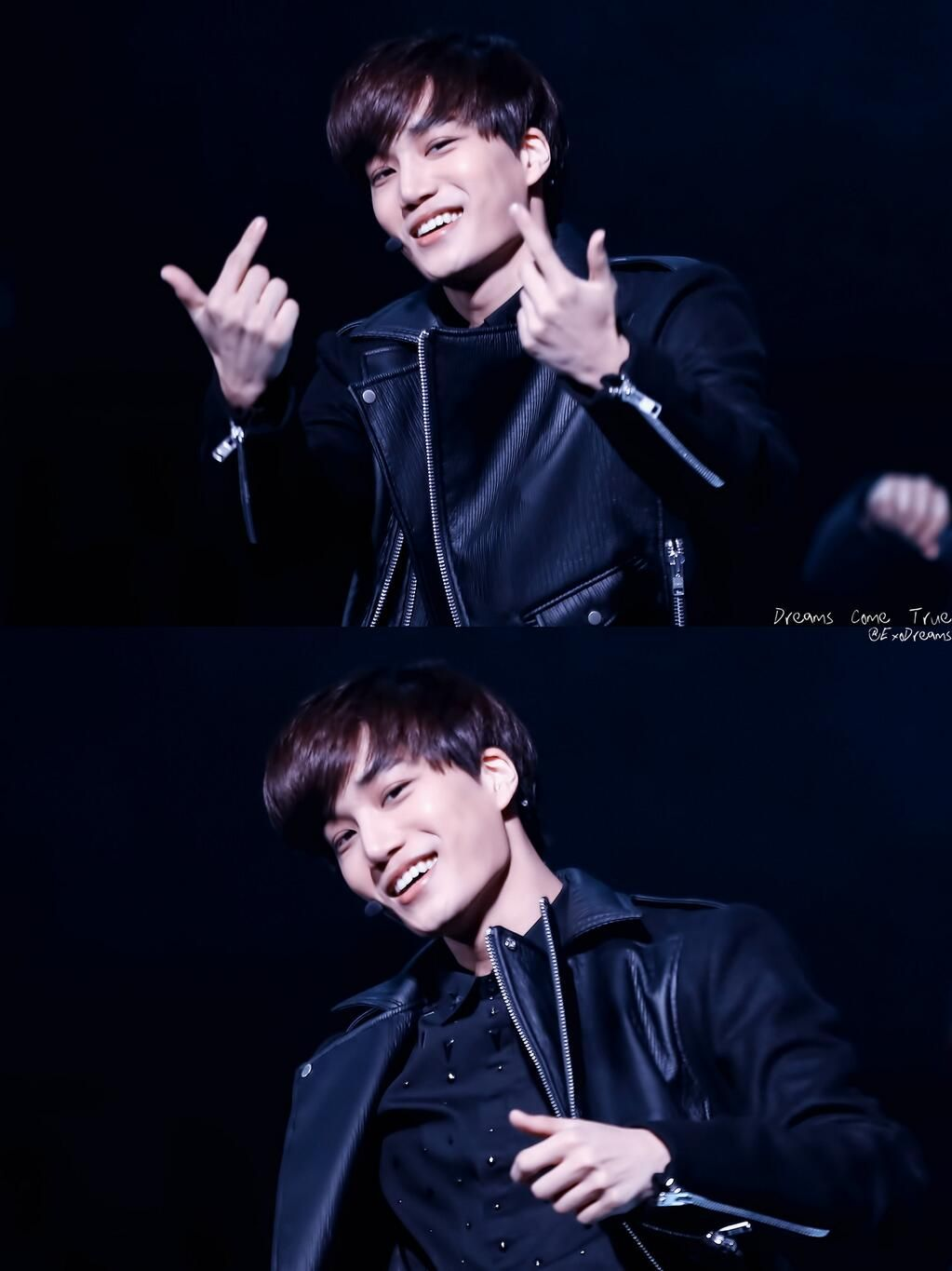 140321 Kai @ Seoul Fashion Week 2014 (cr:dreams come true)